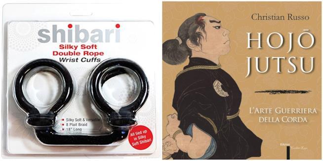 Le corde di seta e il libro che racconta le origini dello Shibari