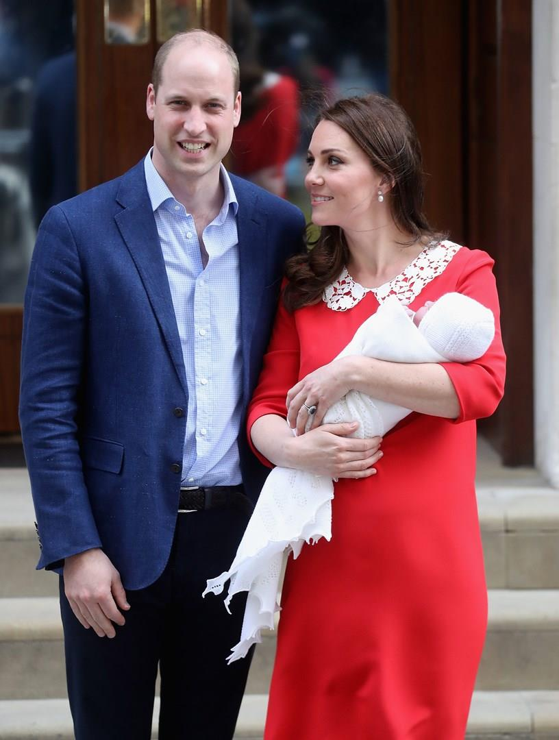 William e Kate con il nuovo arrivato