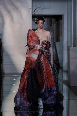 Sfilata MAISON MARGIELA Collezione Alta moda Autunno Inverno 19/20 Parigi - Margiela PO HC RF19 0023