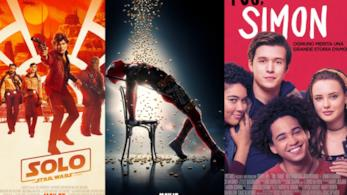 I poster di Solo: a Star Wars Story, Deadpool 2 eTuo. Simon