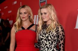 Reese Witherspoon con la figlia Ava ad un evento