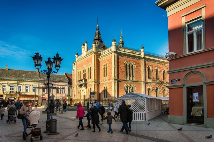 Il serbo-bizantino Palazzo dei Vescovi