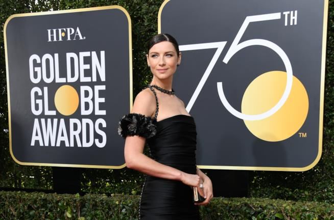 Caitriona Balfe ai Golden Globes 2018