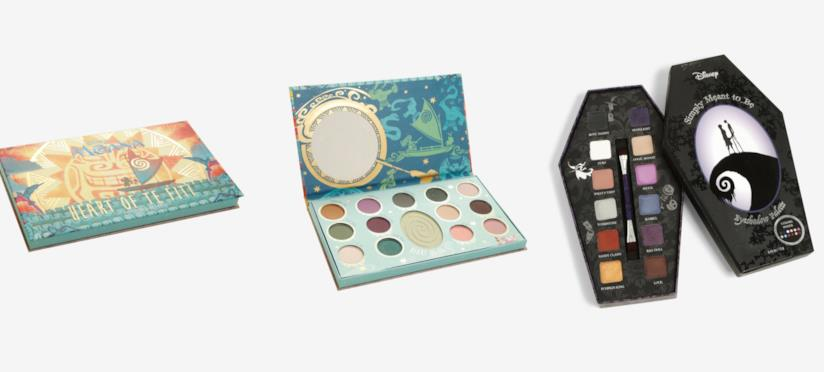 Le palette di ombretti di Oceania e The Nightmare Before Christmas