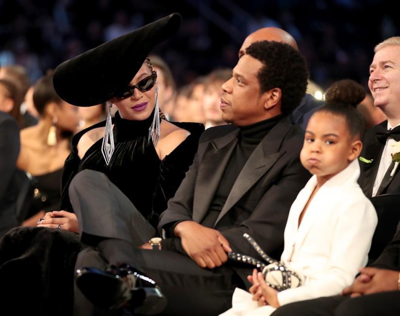 La figlia di Beyoncé ai Grammy Awards 2018
