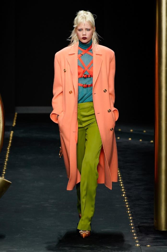 Mix di colori vintage per Versace