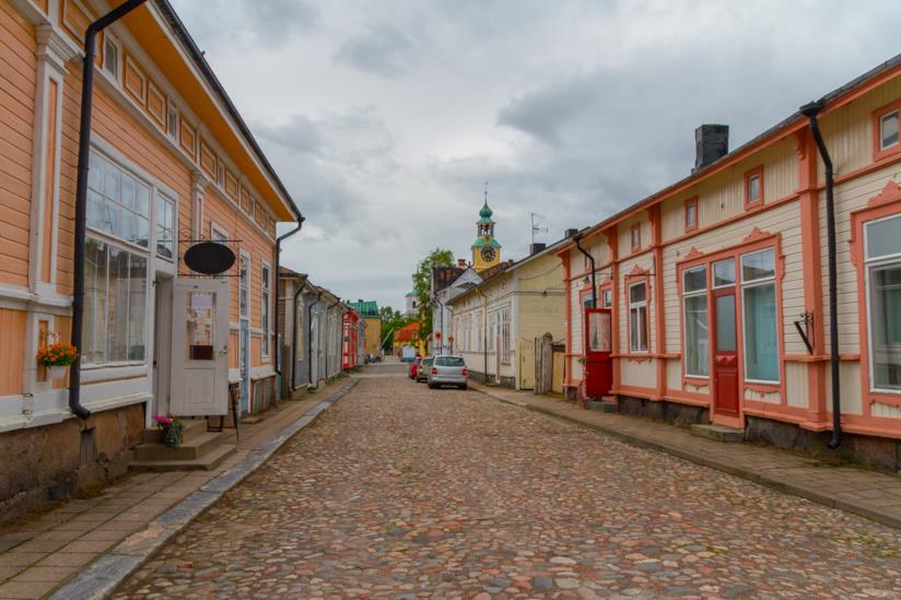 L'antico villaggio di Rauma