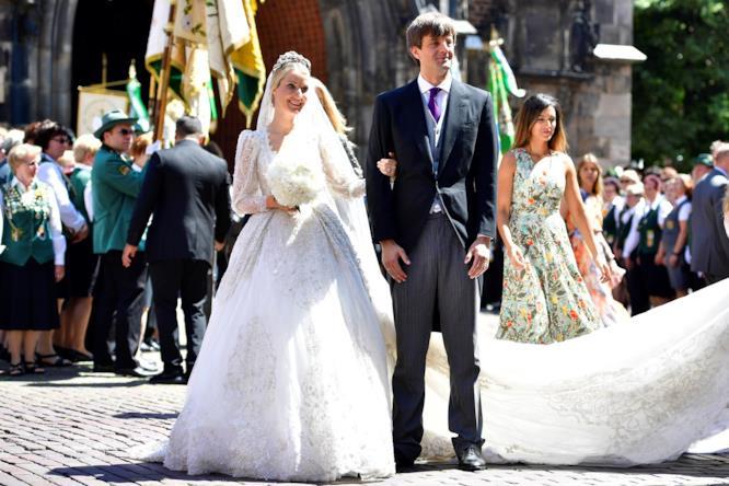 Katia Malysheva e Ernst di Hannover dopo le nozze