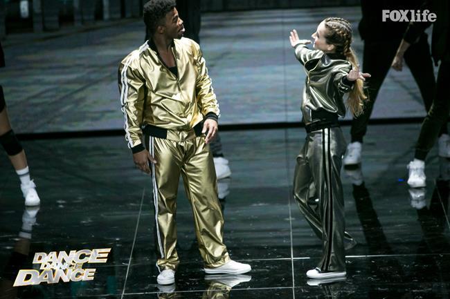 Carlotta e Frank, esibizione del secondo serale di Dance Dance Dance 2