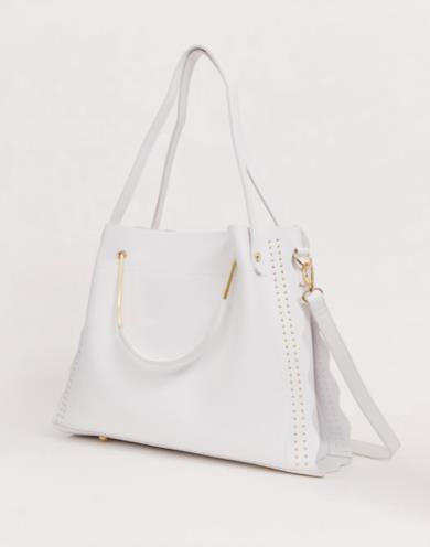 Maxi bag bianca