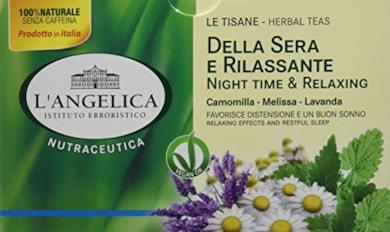 L'Angelica Tè Della Sera e Rilassante - 20 Bustine