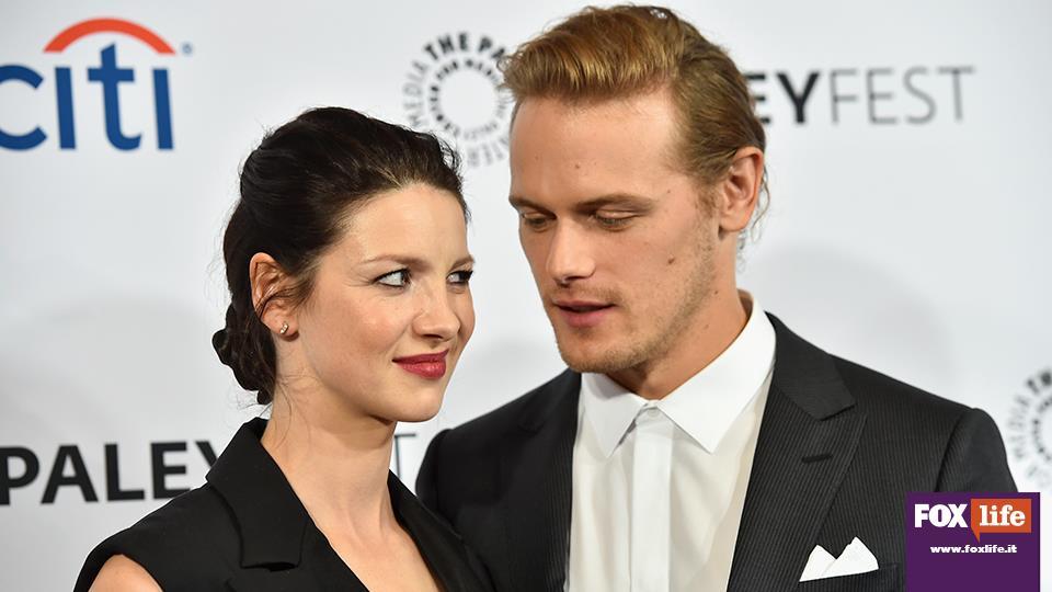 """Diana Gabaldon ha dichiarato """"Quando abbiamo visto i video abbiamo detto, 'Questi sono Claire e Jamie'""""."""