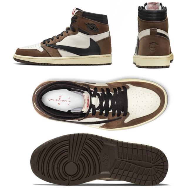 "Nike Jordan 1 ""Cactus Jack"""
