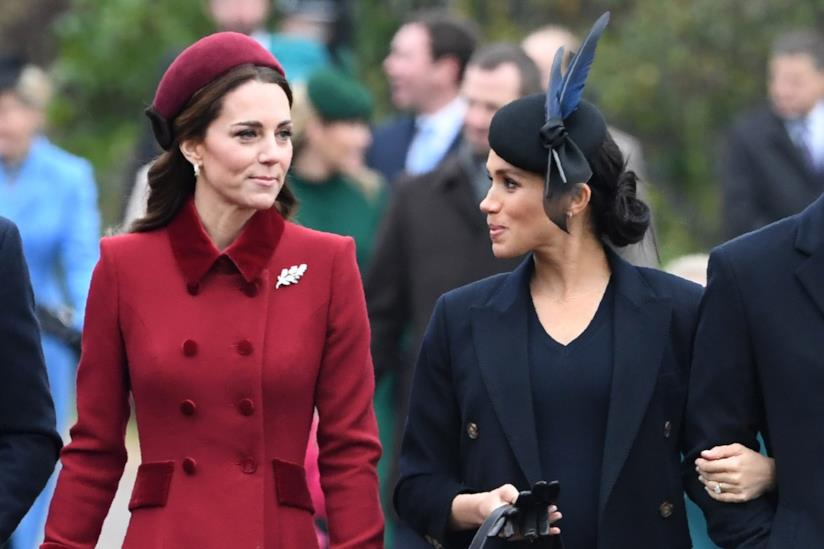 Kate Middleton e Meghan Markle vicine