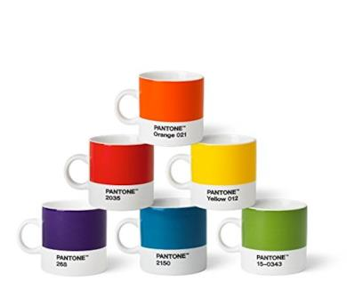 Set di tazze da caffè Pantone