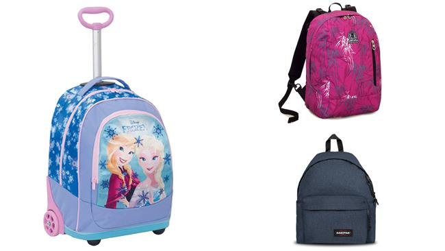 Zaini in offerta su Amazon Back to school