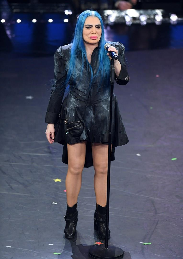Loredana Bertè a Sanremo nel 2019