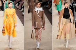 I look della sfilata di Fendi alla Milano Fashion Week 2019