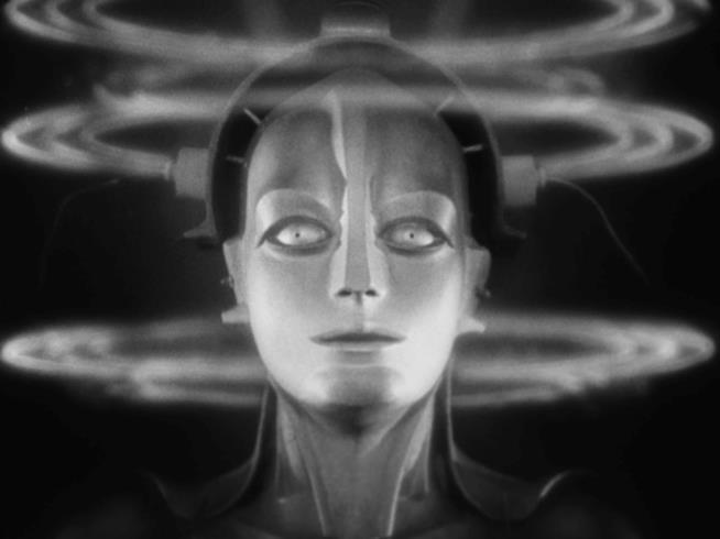 La donna robot del film del 1927 intitolato Metropolis