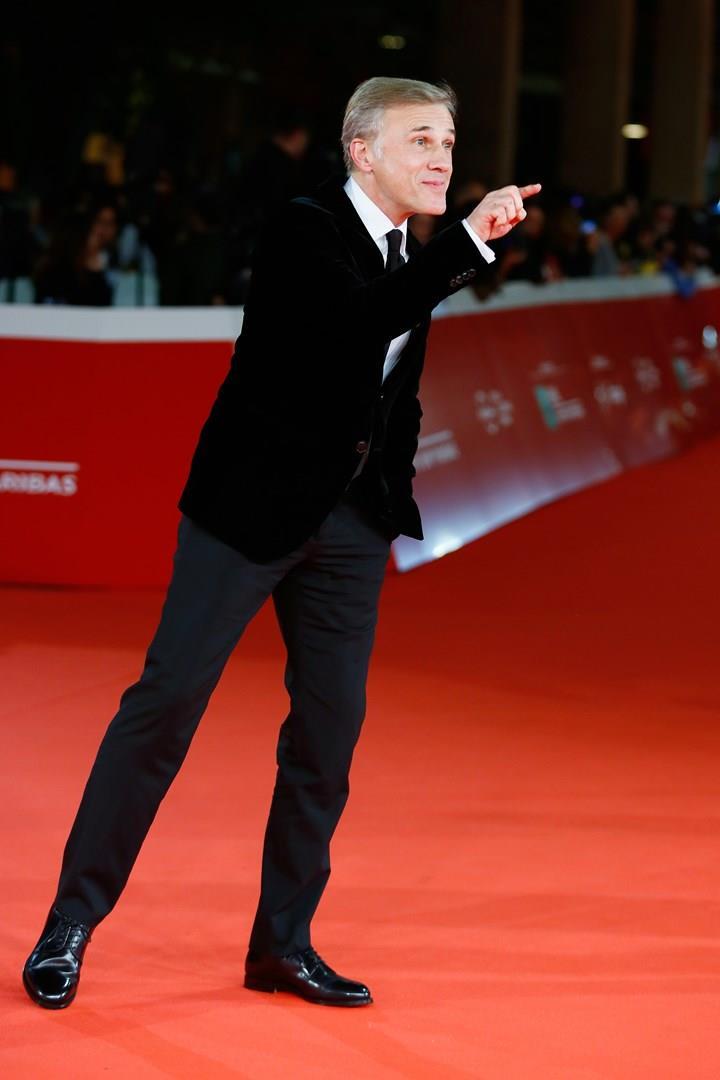 L'attore Christoph Waltz