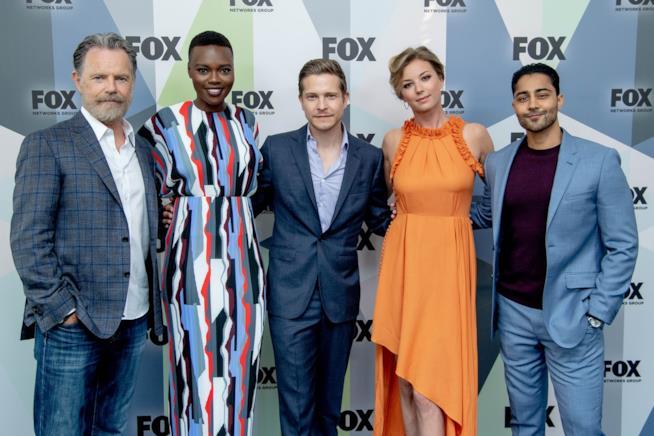 Il cast della serie The Resident agli UPFRONT 2018