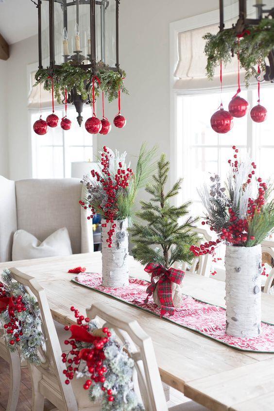 Addobbi natalizi moderni fai da te