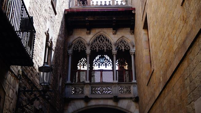 Il ponte del Bisbe di Barcellona