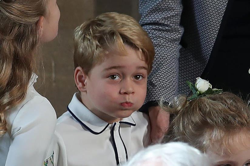 Principe George a un evento ufficiale