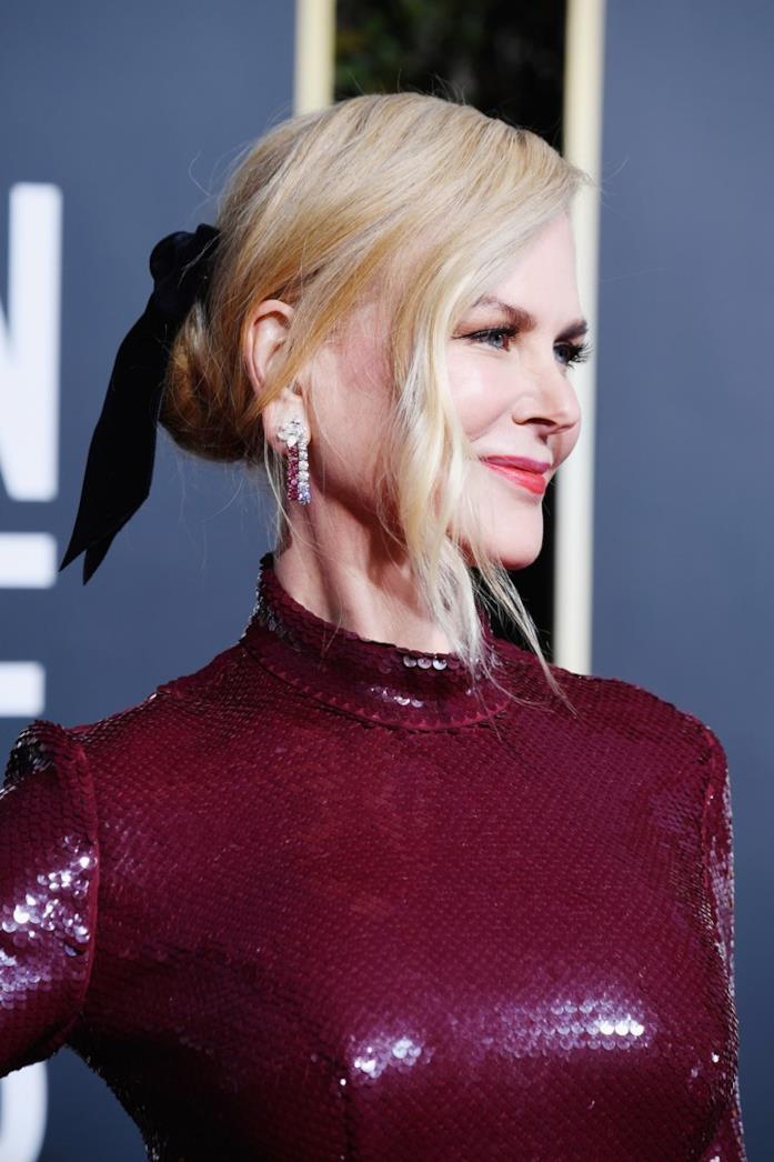 Nicole Kidman ai Golden Globes 2019
