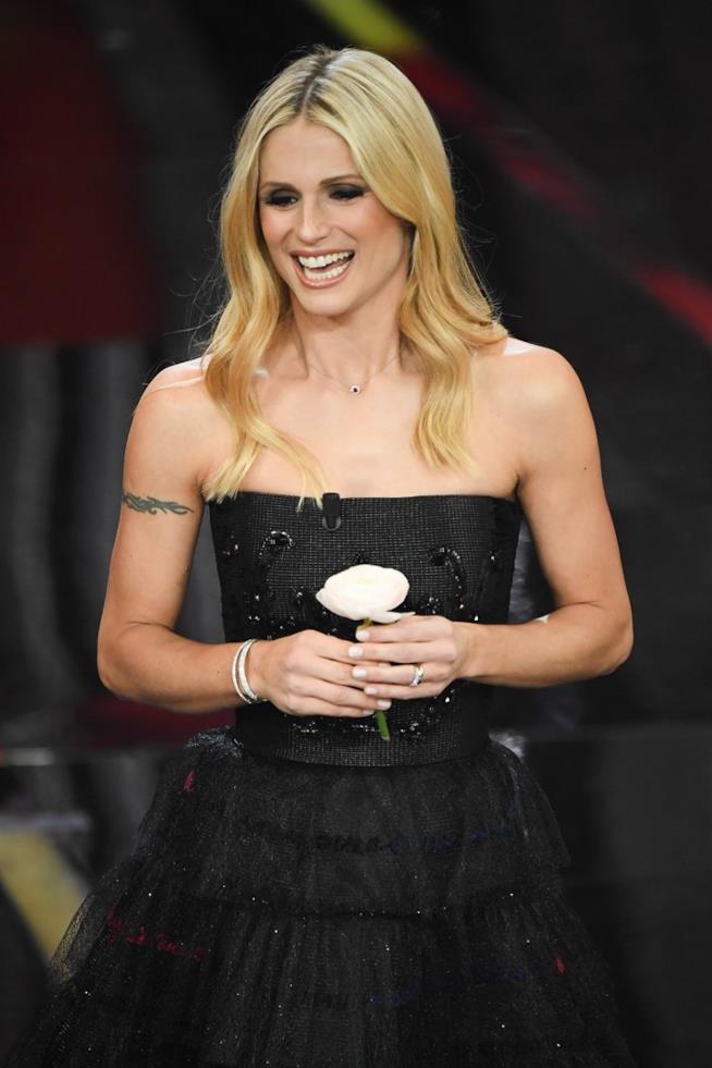 Michelle Hunziker a Sanremo 2019