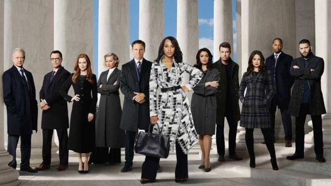 Il cast di Scandal 6