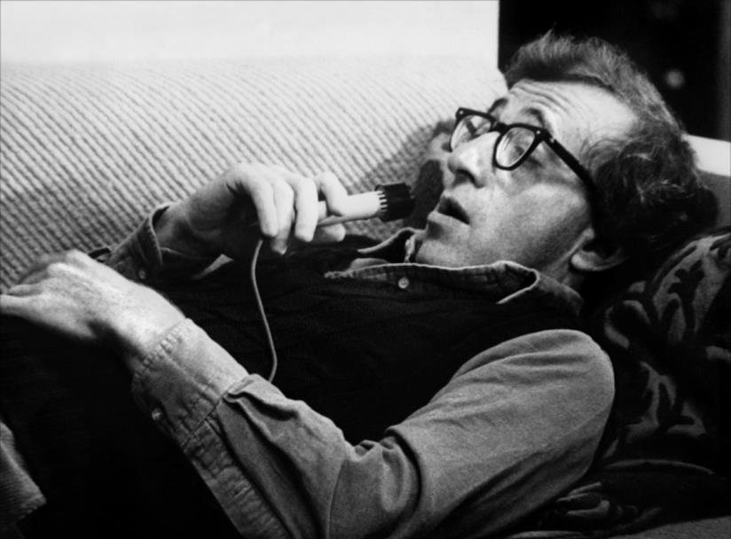 Woody Allen è Isaac in Manhattan
