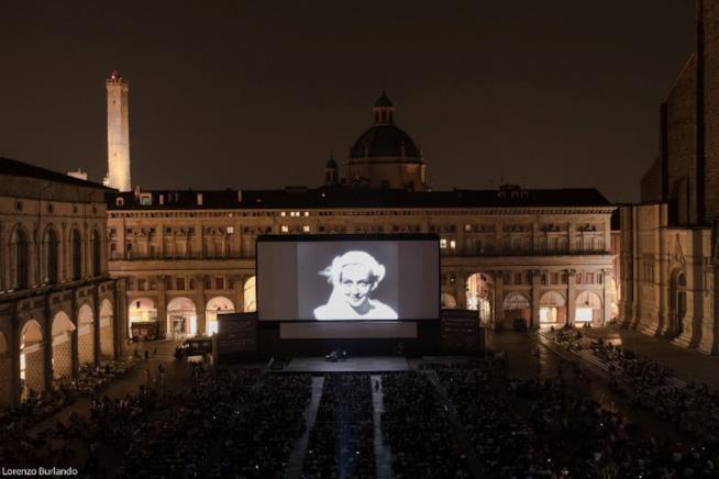 Bologna schermo in Piazza