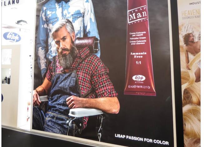 Prodotti per uomini con barba al Cosmoprof