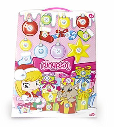 Pinypon Calendario dell'Avvento Ragazze, Multicolore