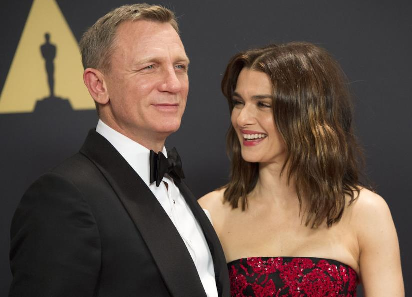 Daniel Craig con la moglie Rachel Weisz
