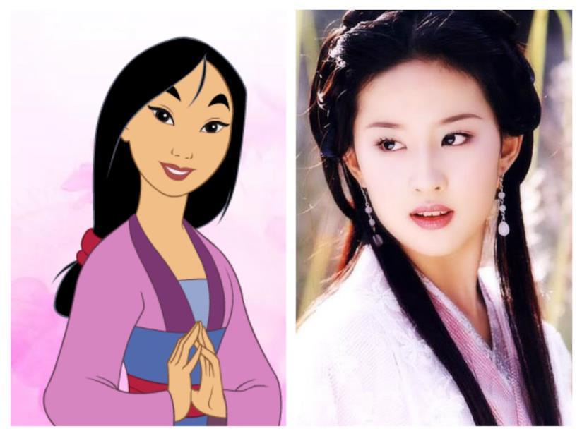 L'attrice Liu Yifei