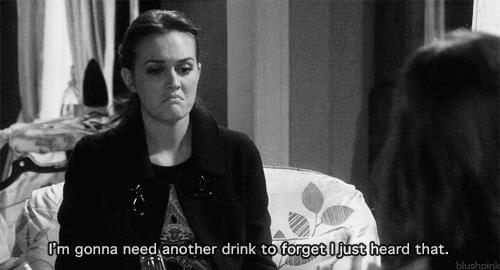 Blair ha bisogno di bere