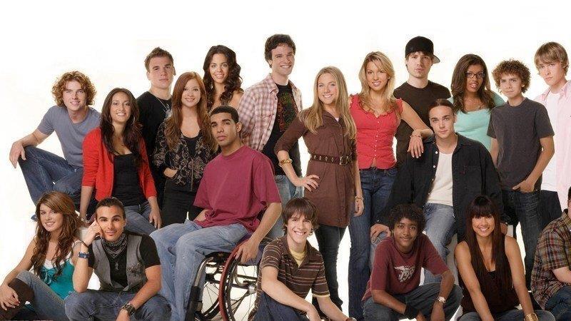 Tutti i protagonisti di Degrassi: The Next Generation