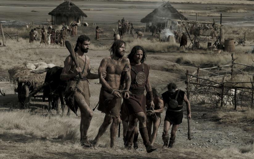 Romolo e Remo catturati dai soldati di Alba Longa