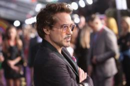 L'attore Robert Downey Jr