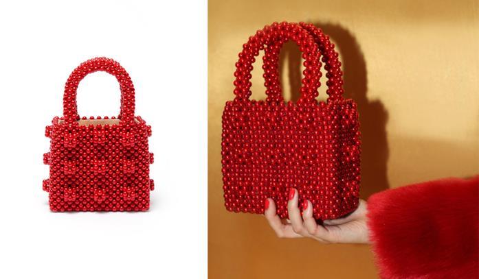 Shrimps Antonia bag rossa
