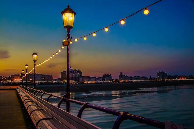 Le luci serali di Brighton