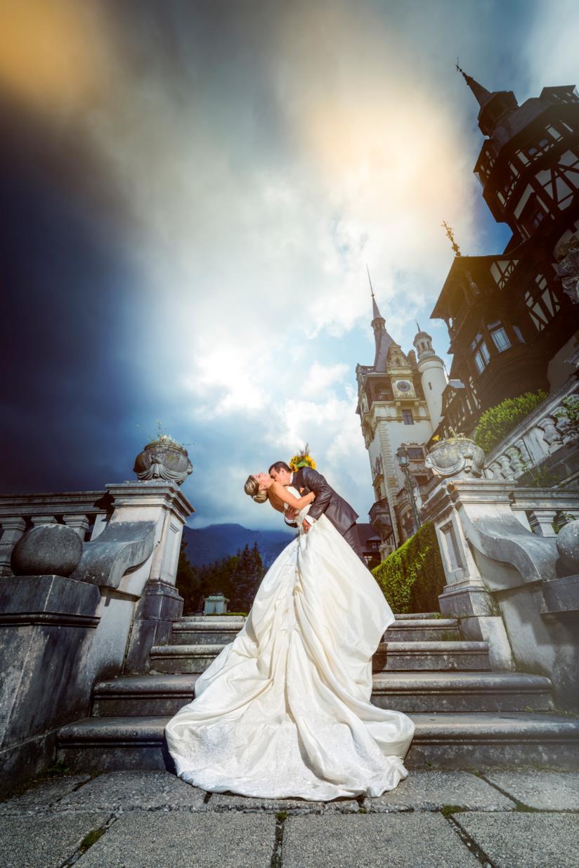 Sposi in un castello
