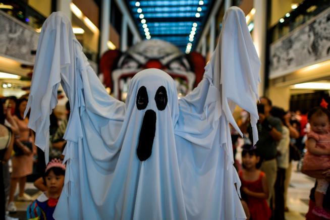 Il costume da fantasma