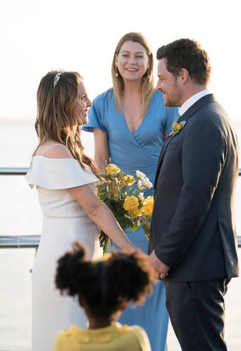 Jo, Alex e Meredith