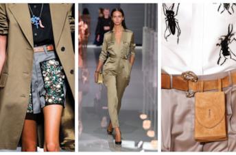 Vestiti e accessori in stile safari P/E 2018