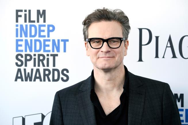 L'attore Colin Firth, premio oscar per Il discorso del re