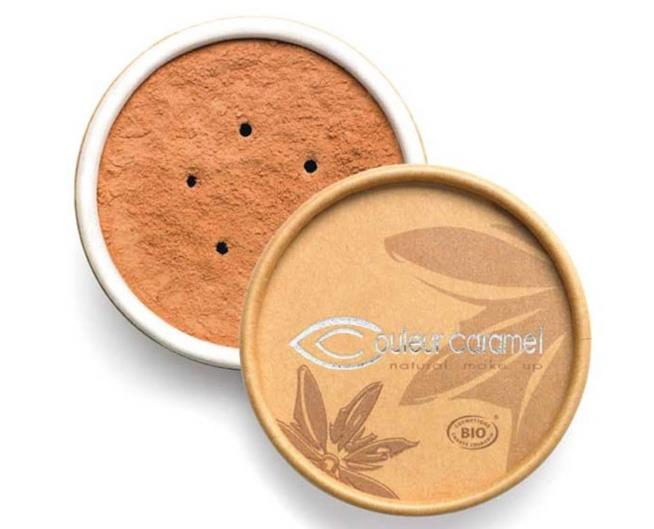 Couleur Caramel fondotinta bio minerale