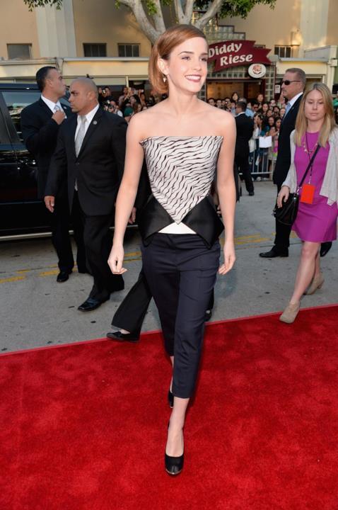 Uno dei look più stilos sfoggiati da Emma Watson